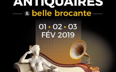 Salon Antiquaires et Belle Brocante d'Amiens, 2019