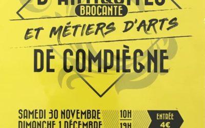24ème salon d'Antiquités, Brocante et Métiers d'Art de Compiègne