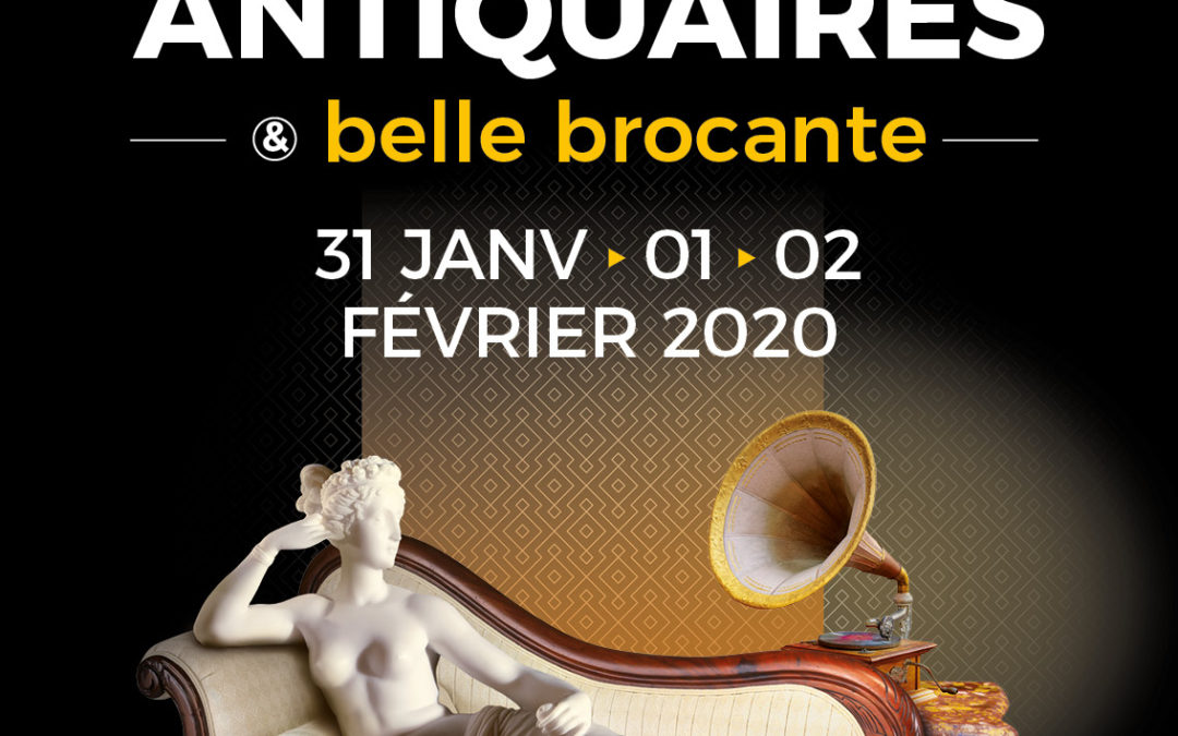 Salon Antiquaires et Belle Brocante d'Amiens, 2020