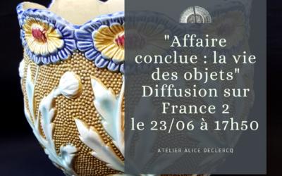 Affaire conclue : la vie des objets – Cache-pot en barbotine De Bruyn