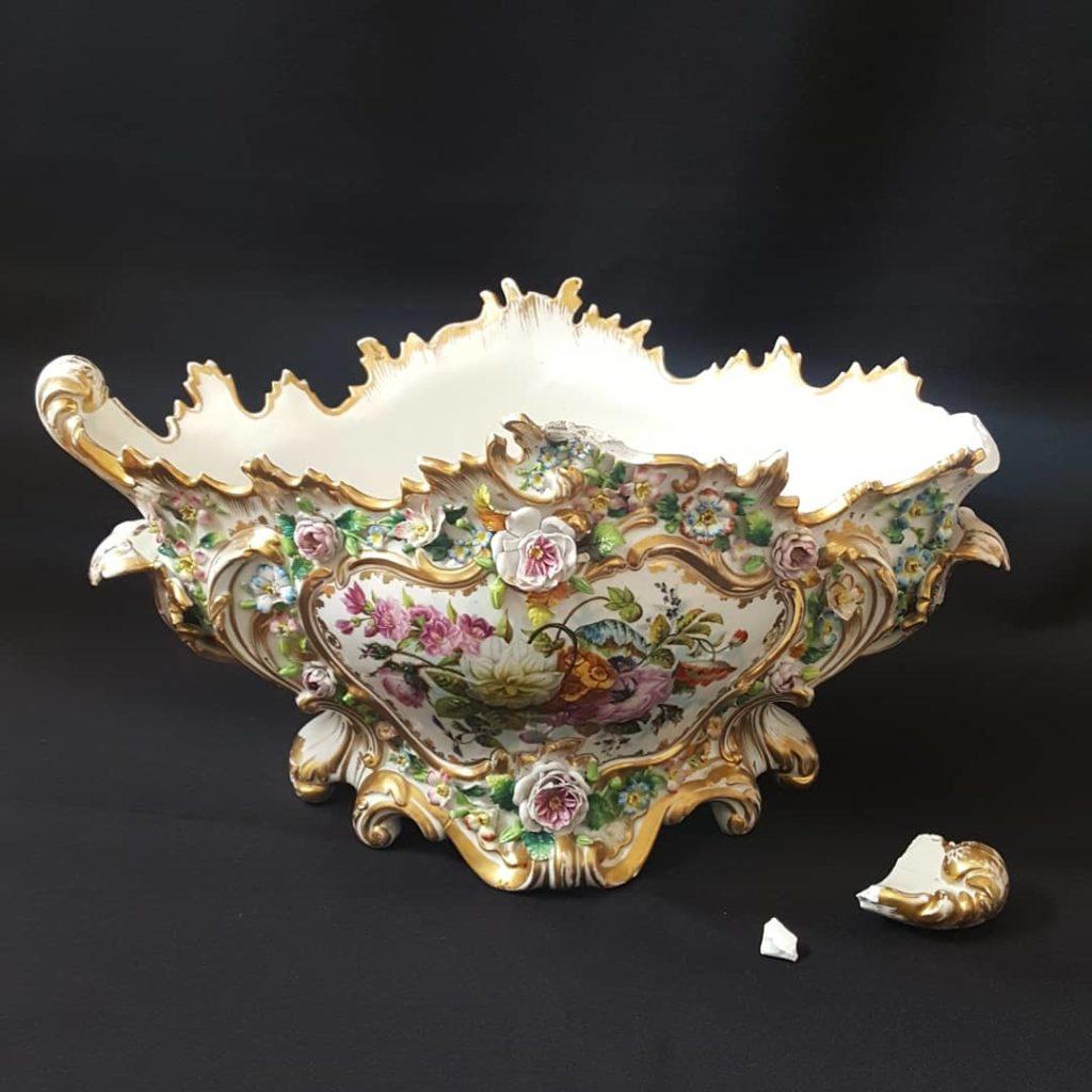 restauration réparation porcelaine Limoges faïence picardie hauts de france nord